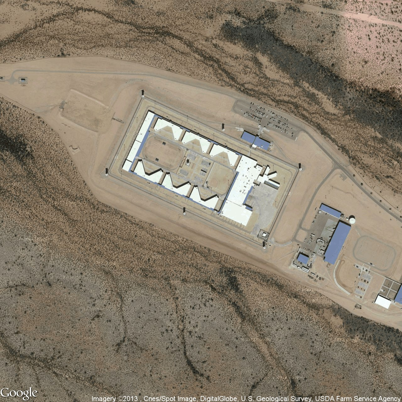 one of 5 300 aerial pos of jails and prisons in the us taken from josh begley s prison map project